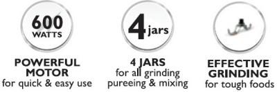 Philips HL1646 Juicer Mixer Grinder