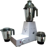 Rudraaksh Domestic 750 W Mixer Grinder (White, 3 Jars)