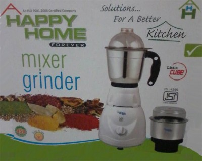 Happy-Home-Little-Cube-450W-Mixer-Grinder