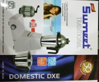 Sumeet Domestic DXE 750 W Mixer Grinder (White, 3 Jars)