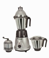 Sumeet Domestic Plus 2015 750 W Juicer Mixer Grinder (Silver, 3 Jars)