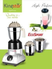 Kingstar ECOSPORT 550 W Juicer Mixer Grinder