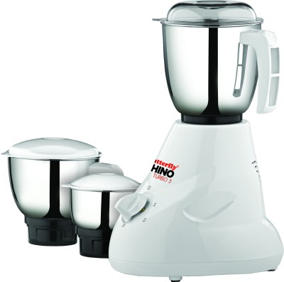 Butterfly Rhino Turbo 3 600W Mixer Grinder
