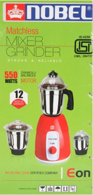 Noble Matchless 500W Mixer Grinder