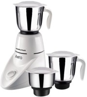 Morphy Richards Richards Aero With 3 Jars 550 W Juicer Mixer Grinder (White, 3 Jars)