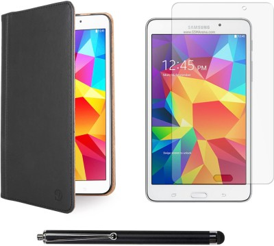 Vangoddy Mary Portfolio Multi Purpose Book Style Slim Flip Case for Samsung Galaxy Tab4 T330/T331 8.0 , Matte Screen and Stylus Pen Combo Set available at Flipkart for Rs.1299