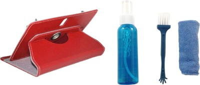 APE Tablet Cover and Cleaning Kit for Croma CRXT1125Q Combo Set