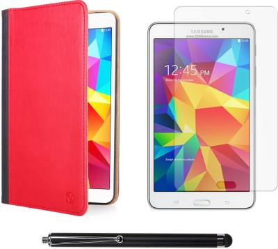 Vangoddy Mary Portfolio Multi Purpose Book Style Slim Flip Case for Samsung Galaxy Tab4 T330/T331 8.0 , Matte Screen and Stylus Pen Combo Set available at Flipkart for Rs.1399