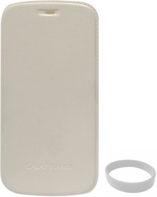 DMG No Back Replace Flip Case for Samsung Galaxy Grand 2 G7102 with Wristband Combo Set White available at Flipkart for Rs.494