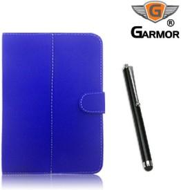 Garmor 100351 Flip Cover for Lenovo Idea Tab A3000 with Stylus Pen Combo Set