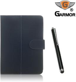 Garmor 100316 Flip Cover for Datawind UbiSlate 3G7 Tablet with Stylus Pen Combo Set