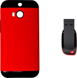 Alexis24 HTC Desire M8 ( slm-arm-red-M8-Pendrive ) Combo Set