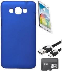 Nextcase Hard Back Case Cover For Samsung Galaxy Grand Max + Screen Guard + Data Cable + 8gb Micro Sd Memory Card Combo Set