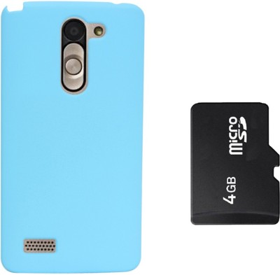 KolorEdge Back Cover & 4GB Memory Card For LG L Bello Combo Set