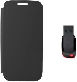 Stern & Lowe Flip Cover for Micromax Bolt A082 with 16GB Pendrive Combo Set