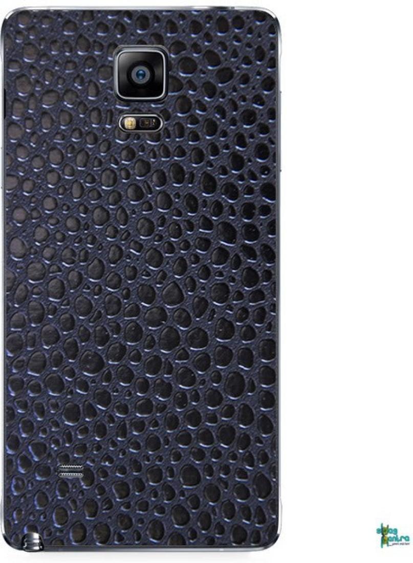 Swagmantra Swagmantra Black Bubbles Original Textured mobile skin for Samsung Galaxy Note 4 Samsung