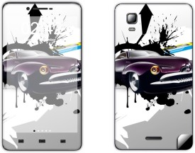 Skintice SKIN9670-fk Micromax Canvas Doodle 3 A102 Mobile Skin