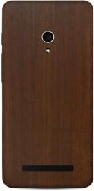 Skinnova Full ZEN5 Mahogany Wood Asus Zenfone 5 Mobile Skin