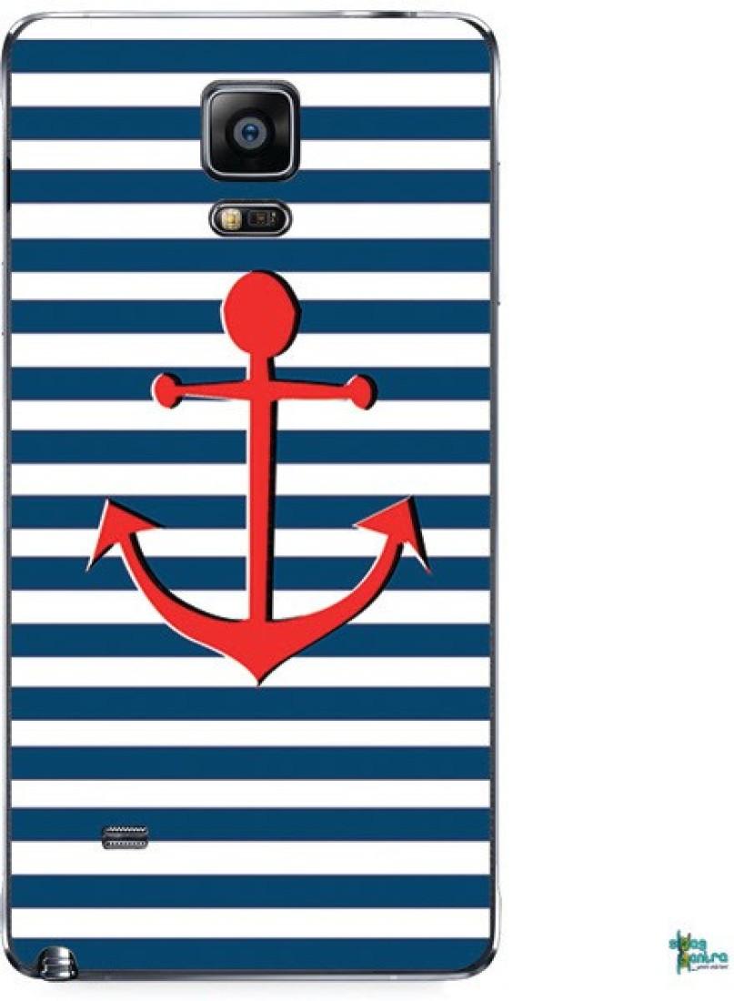 Swagmantra Swagmantra Blue Stripe mobile skin for Samsung Galaxy Note 4 Samsung Galaxy Note 4 Mobile