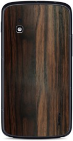 Skinnova Full NXS4 Ebony Wood Google LG Nexus 4 E960 Mobile Skin