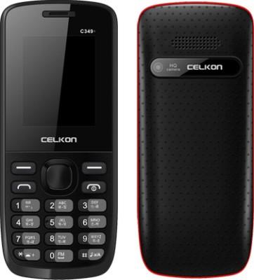 Celkon C349Plus (Black & Red)