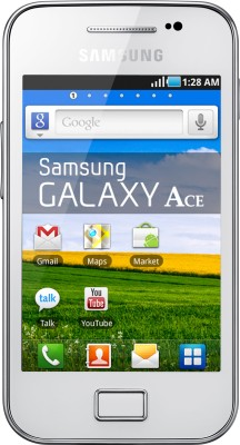 Samsung Galaxy Ace S5830i Pure White, with 2  GB Micro SD Card available at Flipkart for Rs.8953