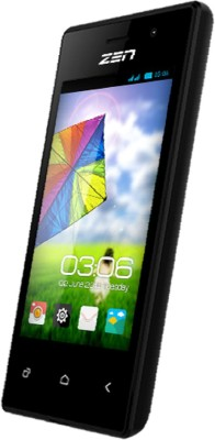 Zen Smart Phone (Black, 512 MB)