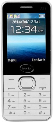 Infix A-11 Dual Sim Multimedia 2.4 Inches (White)