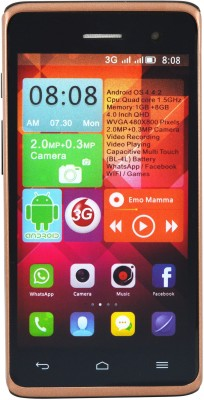 Camerii CM49Brown-Ginger Android (Brown, 256 MB)