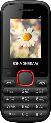 Usha Shriram A2 (Black and Red)