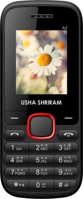 Usha Shriram A2 (Black and Red)
