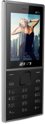 Zen dual sim slim phone (black)