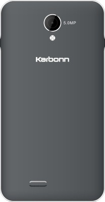 Karbonn Titanium S15 Plus (Grey and Silver, 8 GB)
