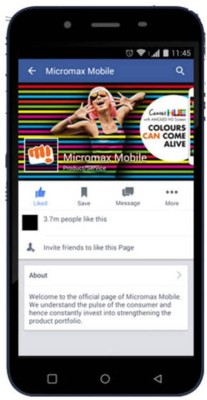 Micromax DOODLE (BLUE, 8 GB)