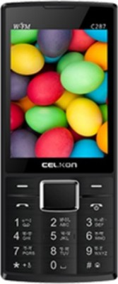 Celkon C287 Black and Red (Black and Red)