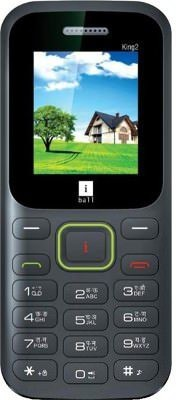 iBall KING 2 1.8B (Black+Green)
