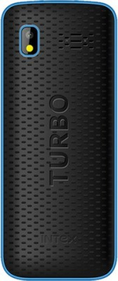 Intex Turbo Star (Black, Blue)