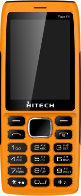 Hitech Yuva Y4 (Black, Orange)