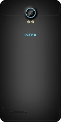 Intex Cloud M5-II (Black and Blue, 8 GB)