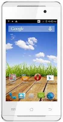 Micromax Canvas Fire (White & Silver, 4 GB)