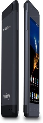 Wham W1 Wiry 4 Inch Android Mobile 4 GB (Black, 4 GB)