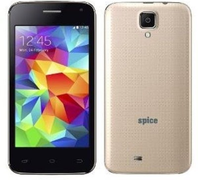 Spice Spice Smart Flo 401 (Golden, 512 MB)