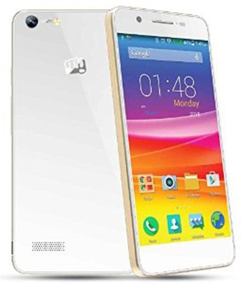 Micromax Canvas Knight 2 E471 Dual Sim - White & Champange Gold (White, Gold, 16 GB)