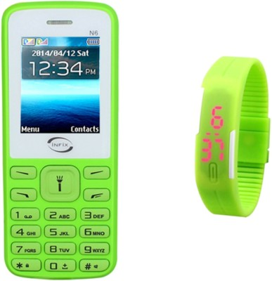 Infix N6 Silicon (Green)
