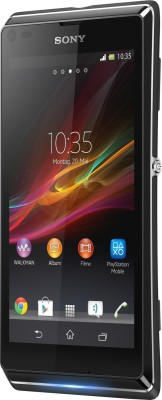 Sony Xperia L ( Starry Black ) at Rs 13547 Only from Flipkart