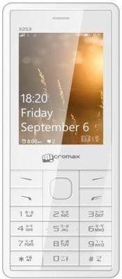 Micromax X253 (White)