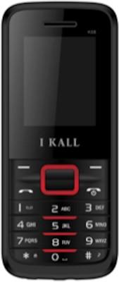 I KALL K-88 Dual SIM Mobile (Black & Red)
