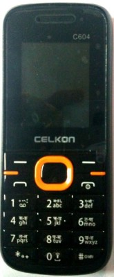 Celkon C604 (Black Orange)