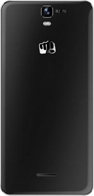 Micromax Canvas HD Plus A190 Dual Sim - Black (Black, 8 GB)