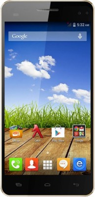 Micromax Canvas HD Plus A190 Dual Sim - Black (Black, 8 GB)